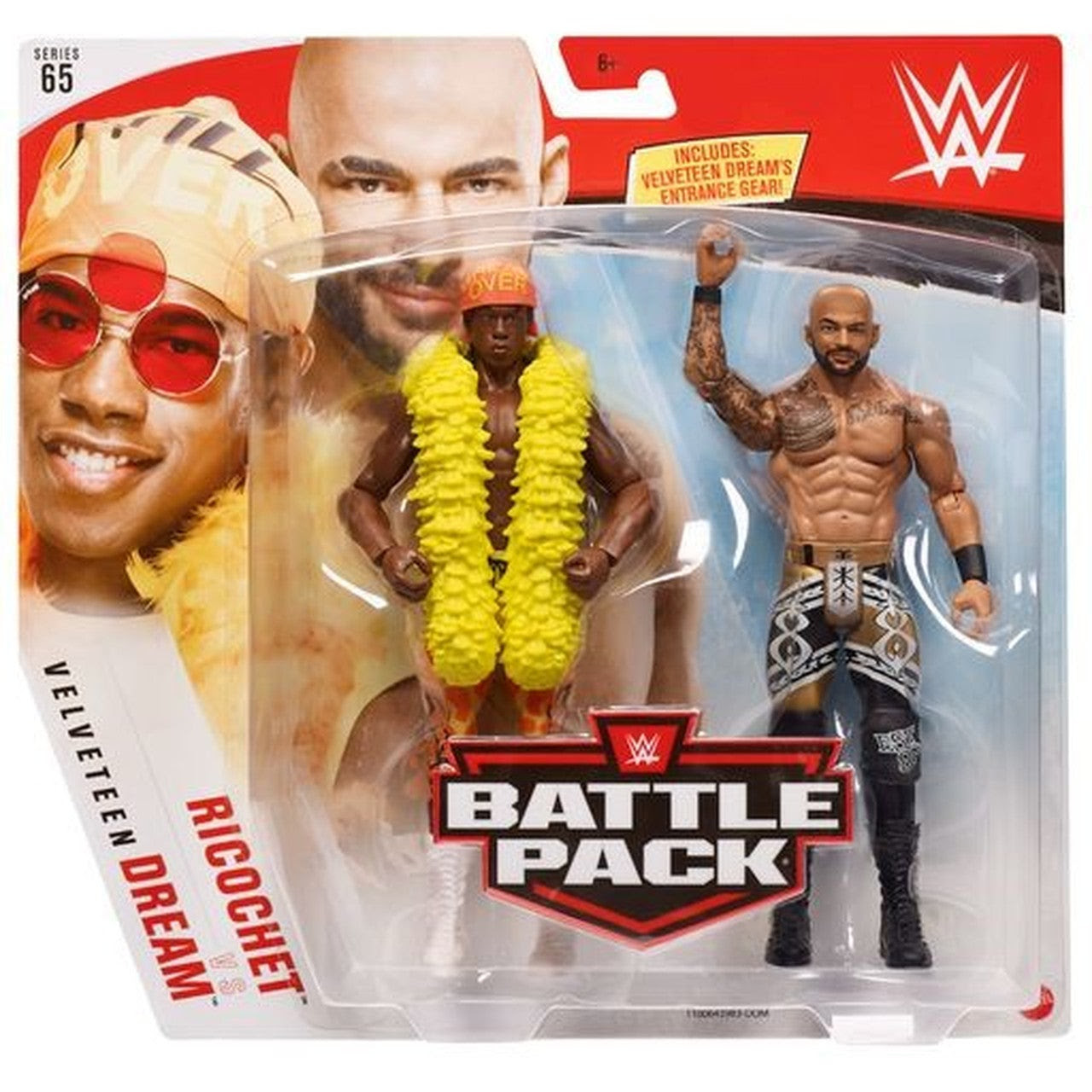 Image of WWE Battle Pack Series 65 - Ricochet & Velveteen Dream