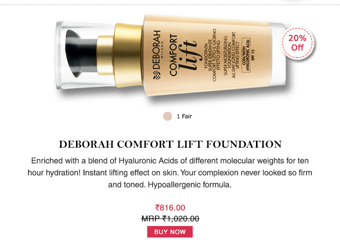 Deborah Comfort Lift Foundation