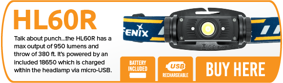 Fenix HL60R LED Headlamp
