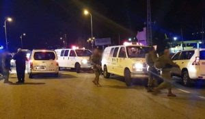 """""""Palestinian"""" Muslims open fire on Israeli civilians: At least 7 wounded, including a pregnant woman"""