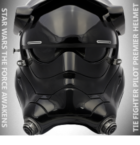 STAR WARS EPVI TIE FIGHTER PILOT PREMIER HELMET