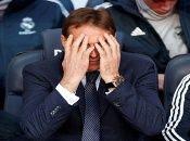 La más reciente derrota del entrenador, y la que lo sacó del equipo, fue ante Barcelona, cayendo por 5-1.