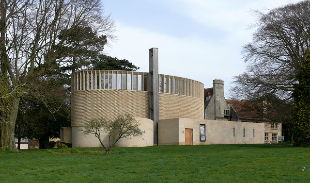 Edward King Chapel, Ripon College, Oxfordshire by Niall McLughlin