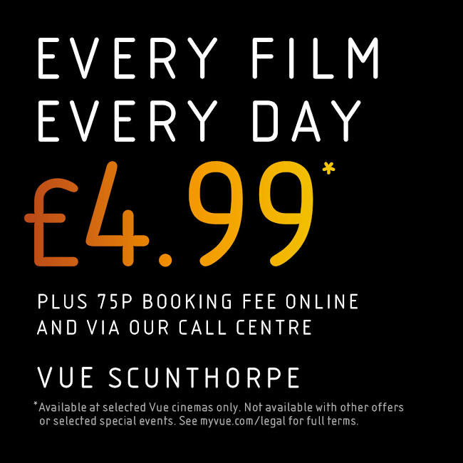 Cinema // any film, anytime £4.99