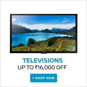 Televisions | Upto Rs.16000 Off