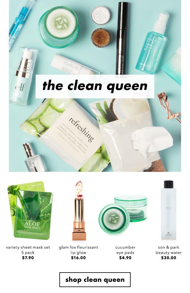 Shop the clean queen