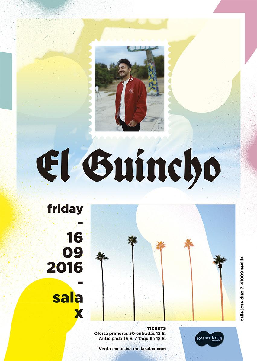 Concierto de El Guincho en Sevilla