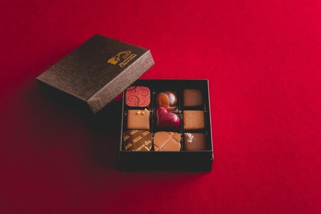 【バレンタイン限定】 ボンボンショコラ アソートメント(9個入り)