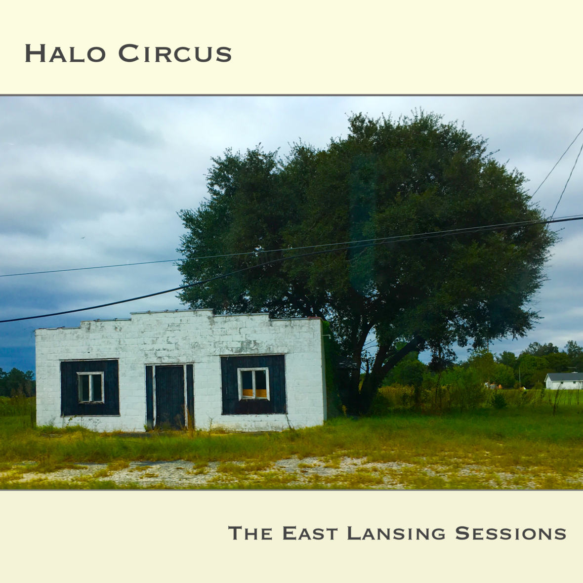 Halo Circus - The East Lansing Sessions EP - Official Cover