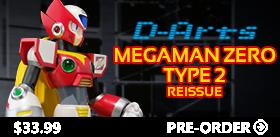 D-ARTS MEGAMAN ZERO TYPE 2 REISSUE
