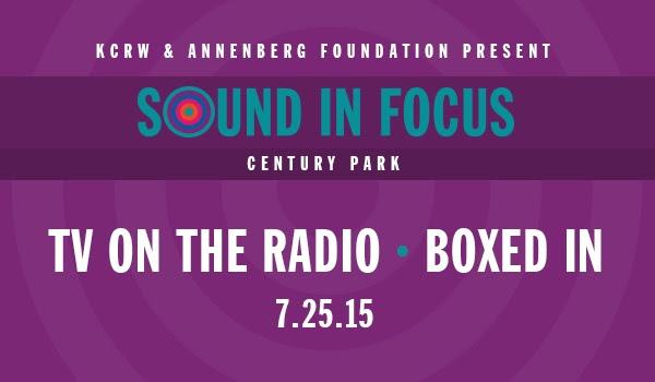 KCRW & Annenberg Foundation Present: Sound in Focus