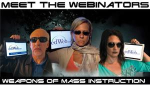 Meet the Webinators at ISTE