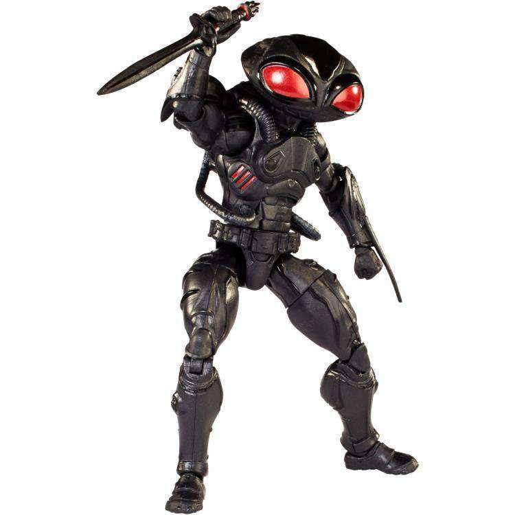 Image of Aquaman DC Comics Multiverse - Black Manta - (Collect & Connect Trench Warrior)
