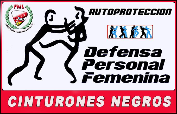 Curso Cinturón Negro D.P.Femenina y/o Autoprotección Mujer