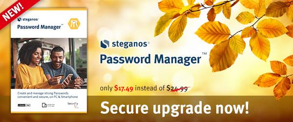 Steganos Password Manager Discount Coupon