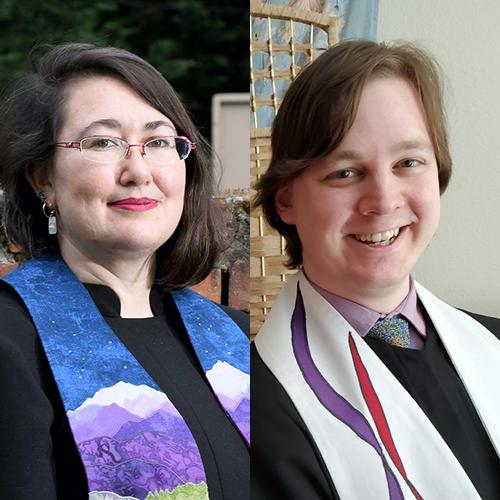 Rev. Elizabeth Mount and Rev. AJ van Tine