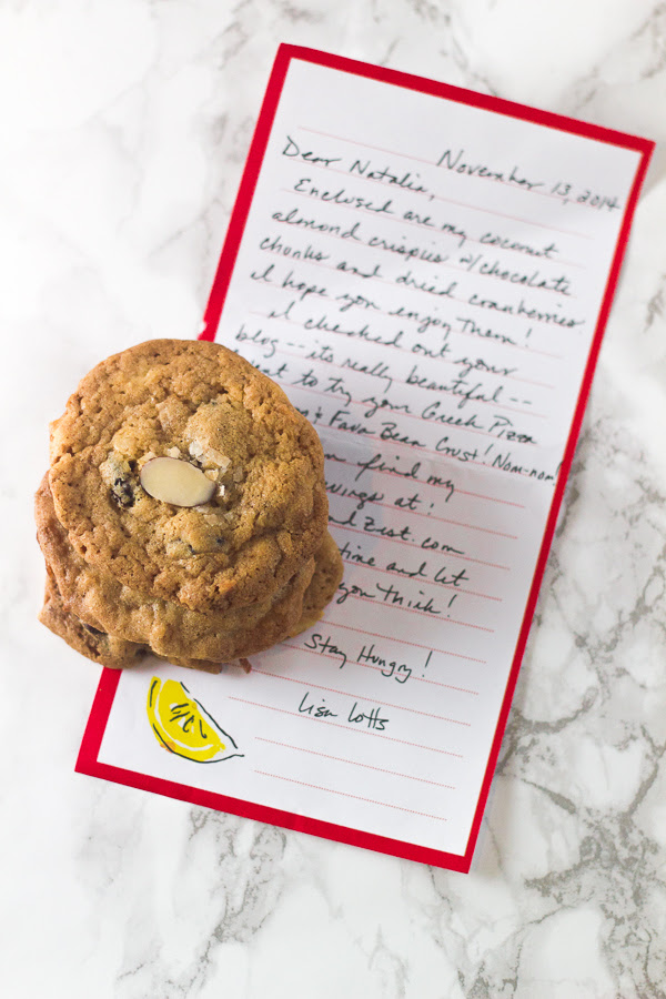 Cookie Swap Almond Crispies