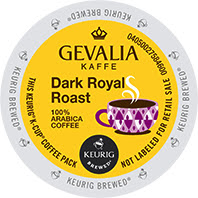 Gevalia Dark Roast Royal Keurig® K-Cup coffee pods