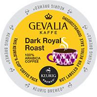 Gevalia Dark Roast Royal Keurig® K-Cup coffee pods