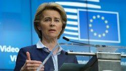 La Sra. Presidente de la Unión Europea, Ursula Von der Leyen