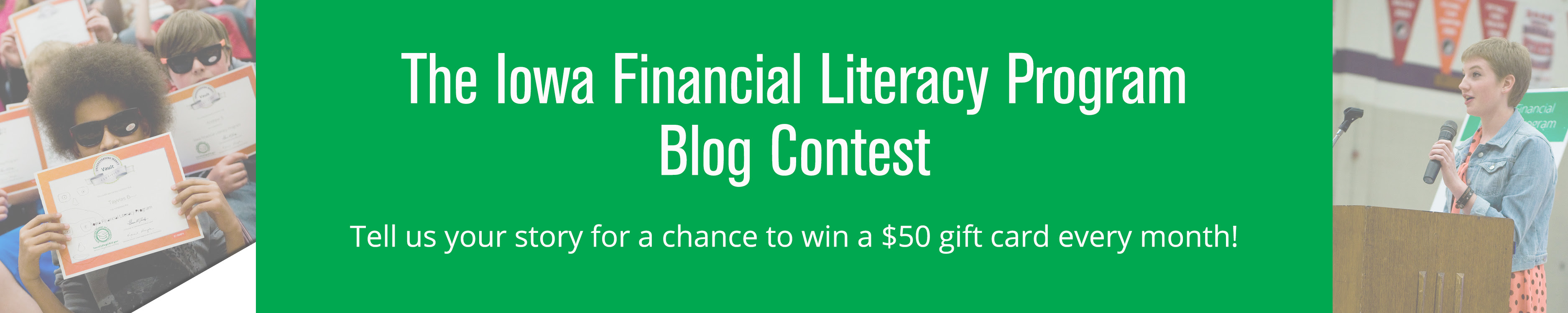 Iowa Financial Literacy Program Blog Contest