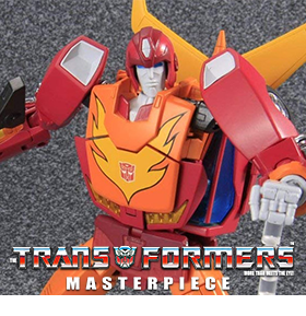 TRANSFORMERS MASTERPIECE MP-09 RODIMUS PRIME WITH COLLECTOR COIN