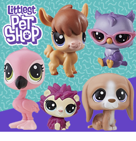 LITTLEST PET SHOP FIGURES & PLAYSETS
