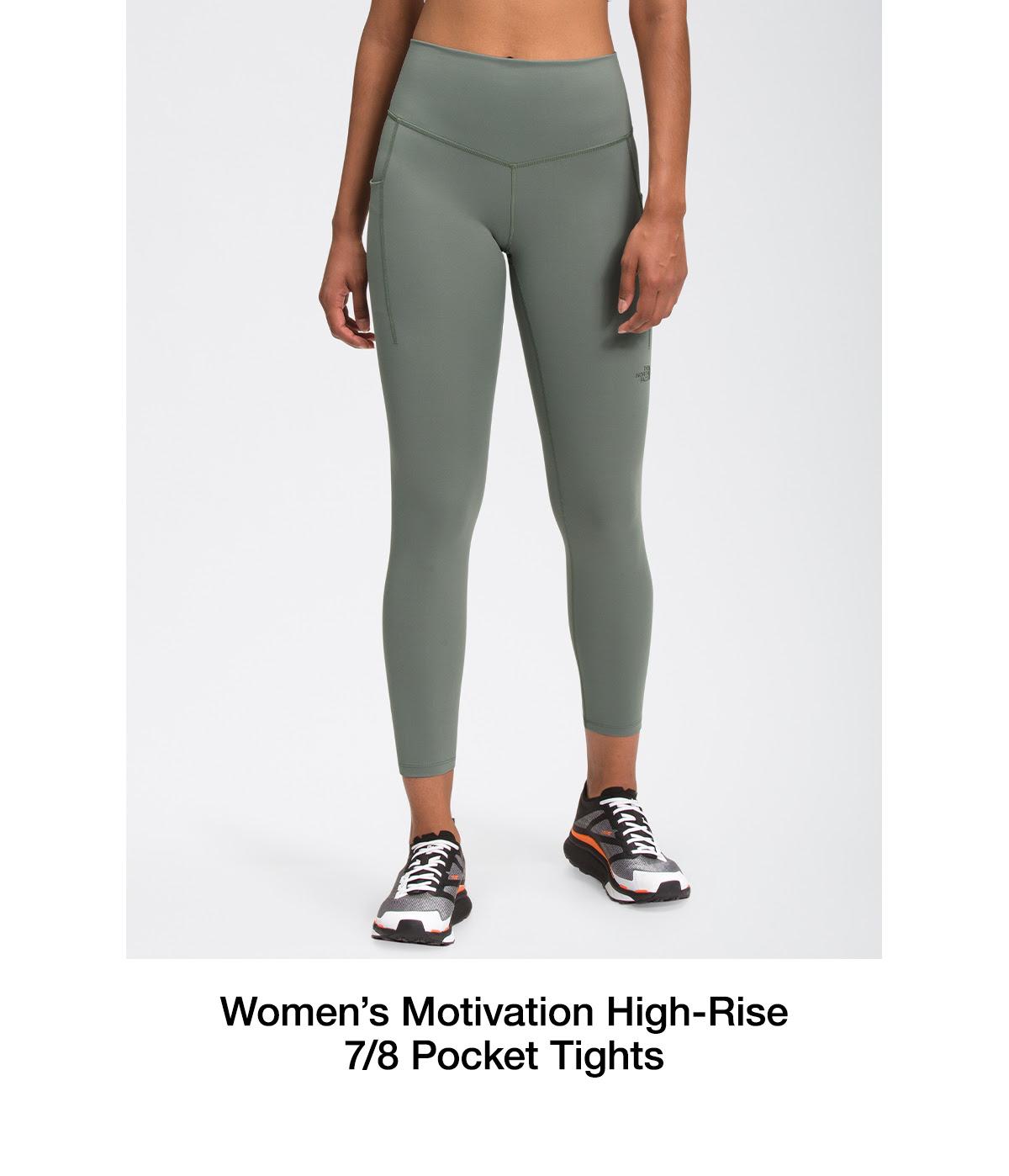 Women's Motivation High-Rise 7/8 Pocket Tights
