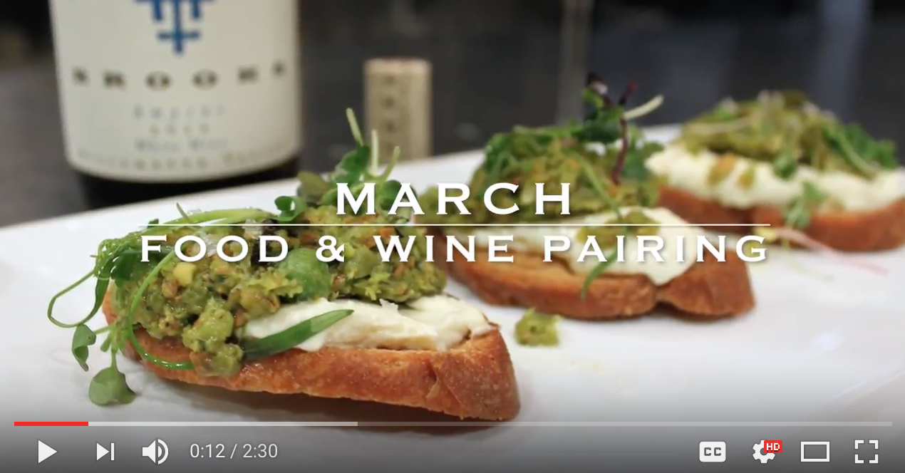 March Pairing Video