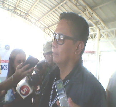 Dismissed BOC Davao Port District Collector Gen. Ernesto Ruiz Aradanas