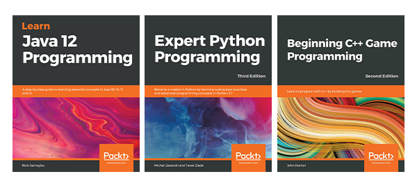3 Packt programming ebooks for free