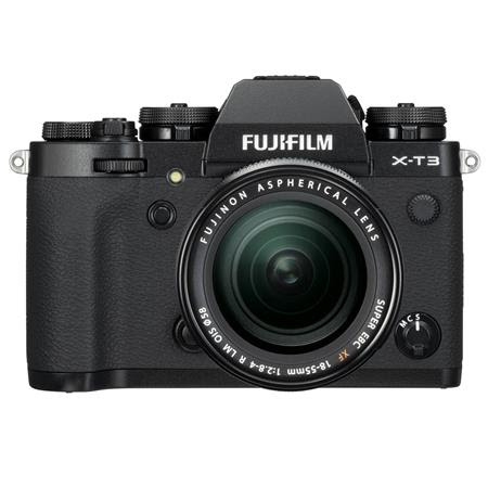 X-T3 26.1MP Mirrorless Digital Camera with XF 18-55mm f/2.8-4 R LM OIS Lens, Black