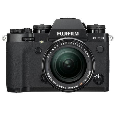X-T3 26.1MP Mirrorless Digital Camera with XF 18-55mm f/2.8-4 R LM OIS Lens, Black