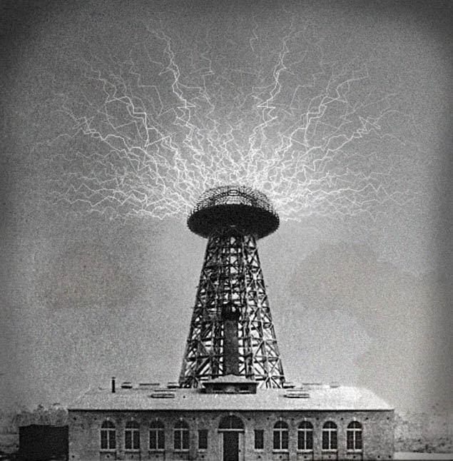 Tháp Wardenclyffe. (Ảnh qua lalung.vn)