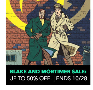 Blake & Mortimer Sale: up to 50% off! Sale ends 10/28.