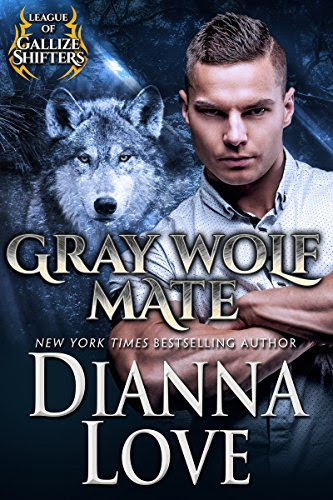 Cover for 'Gray Wolf Mate (League Of Gallize Shifters Book 1)'