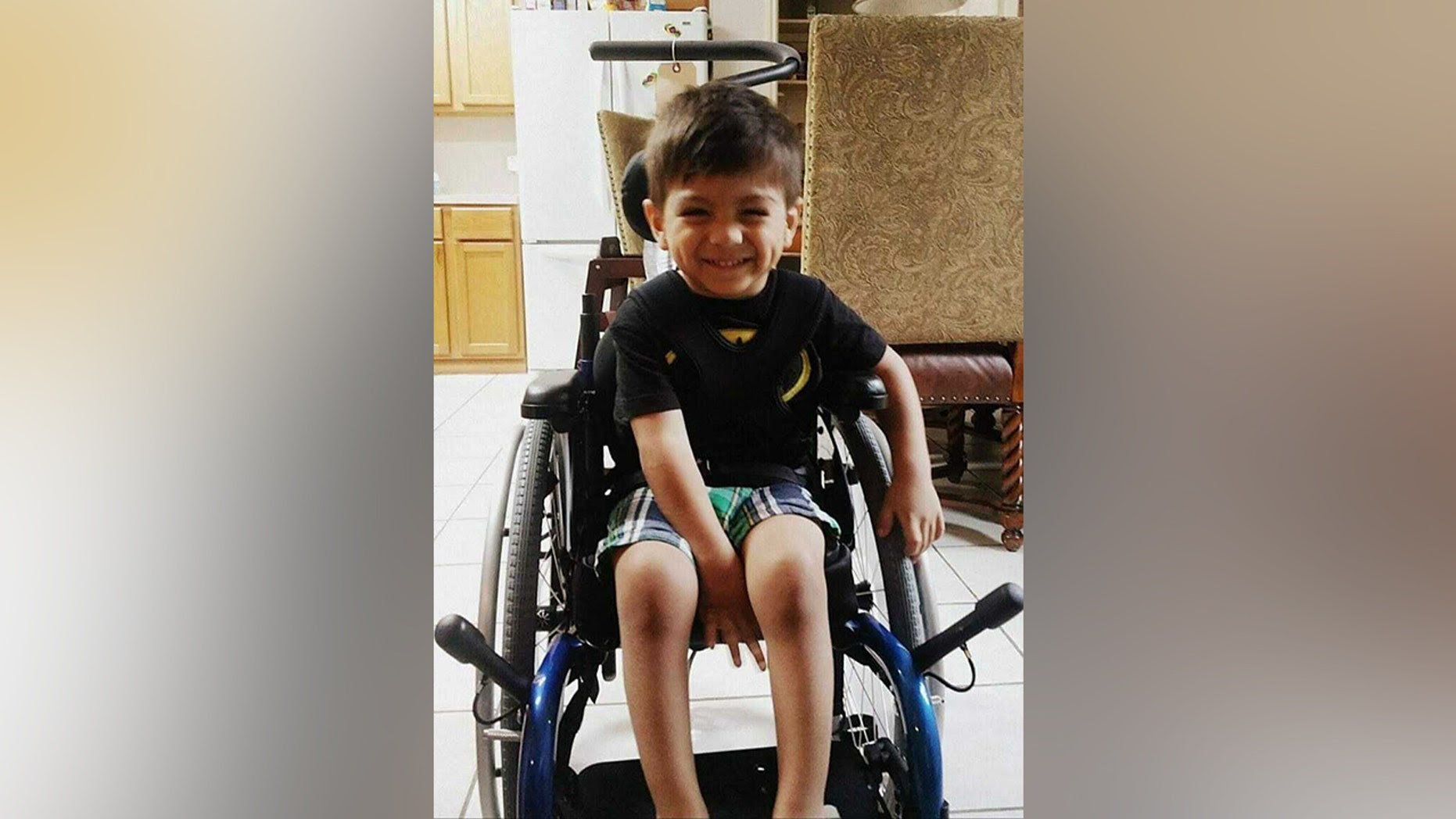 Seven-year-old with cerebral palsy saves his family from carbon monoxide poisoning