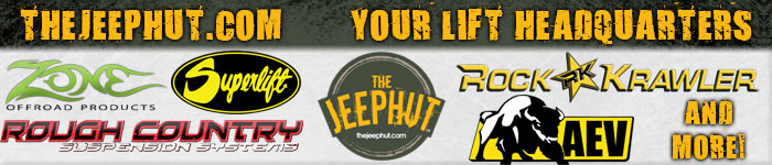 Top Brands and Best Lifts at JeepHut
