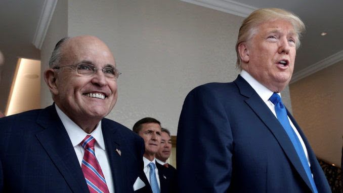 Rudy Giuliani promises prosecutions are coming for D.C. swamp rats following IG report