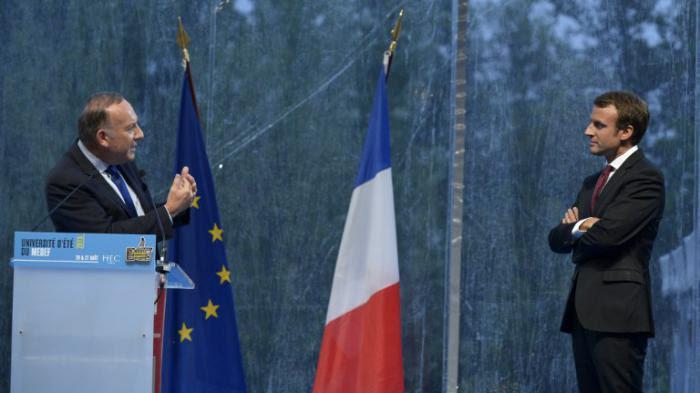 Emmanuel Macron et Pierre Gattaz marchent dans la même direction