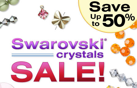 On Sale!: Swarovski crystals..