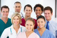 Picture of health professionals