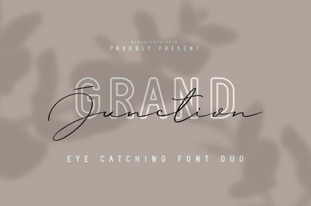 Grand Junction Font Duo