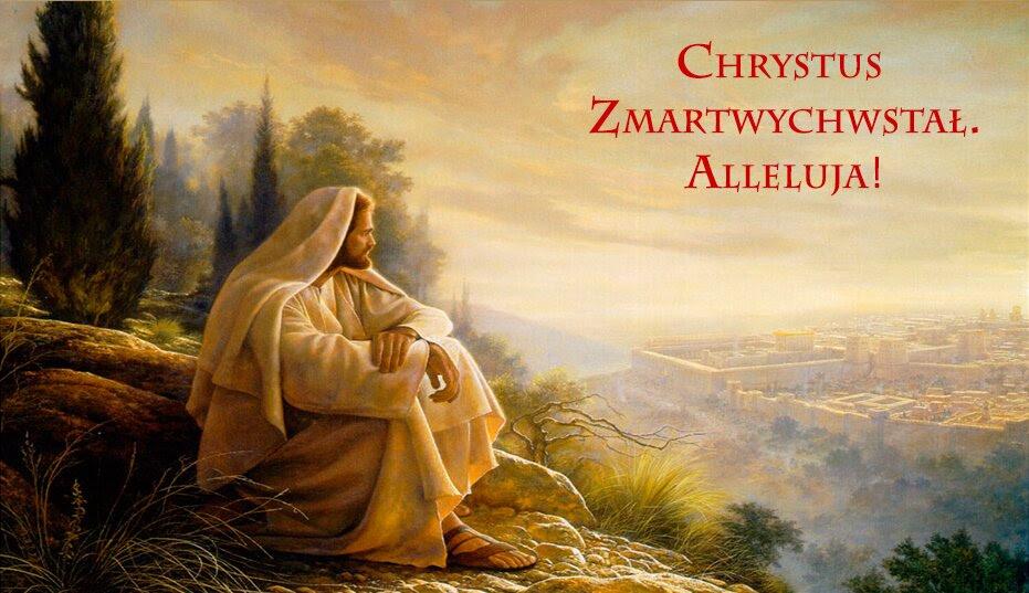 Znalezione obrazy dla zapytania pan jezus zmartwychwstaly