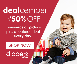 Dealcember at Diaper.com - Ord...