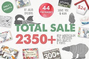 TOTAL SALE • 2350 ELEMENTS • 98%OFF