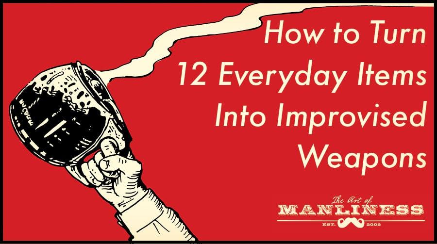 coffee pot improvised weapon illustration