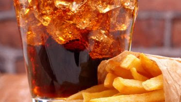 Diet Drink and French Fries