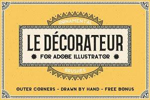 Le Decorateur Ornamental Brushes