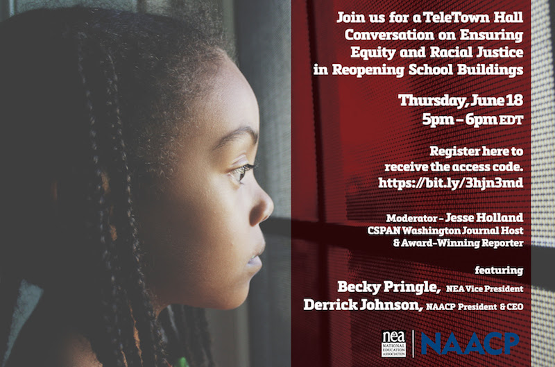 Join us for a Tele-Town Hall on June 18 5-6 p.m. EDT